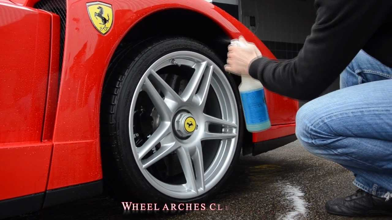 Topaz Detailing London Ferrari Enzo Detail 120 Hours