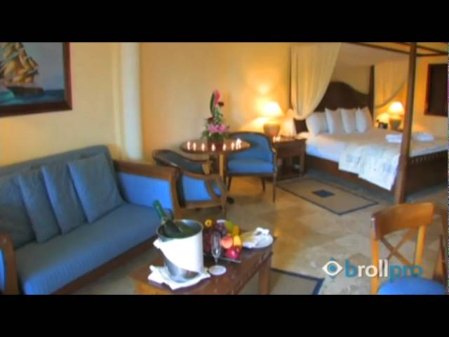 Secrets Capri Riviera Cancun, Mexico - Rooms B-roll Travel Video Footage