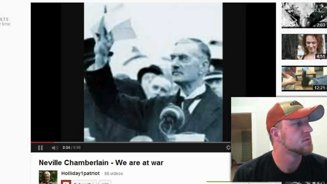 obama vs chamberlain Chamberlain said peace in our timeobama strategy is one piece at a time we cannot wait until 2016 bud farrell, georgetown, texas.