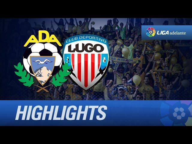Resumen de AD Alcorcón (1-0) CD Lugo - HD