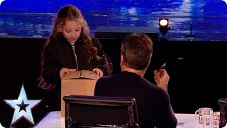 Preview: Issy Simpson wows with her magic act!   Britain's Got Talent 2017