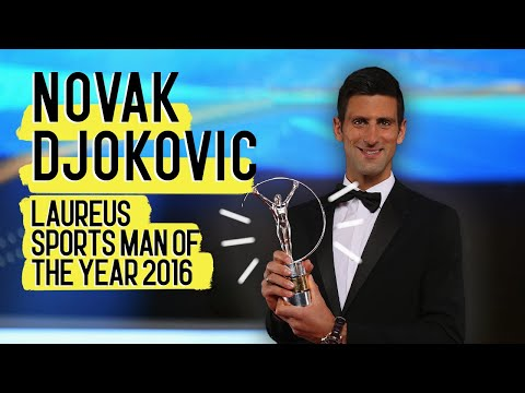 Laureus World Sportsman of the Year 2016 - Novak Djokovic