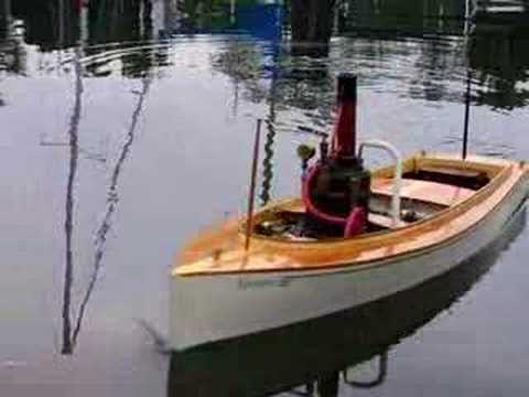 Model Steam Boat