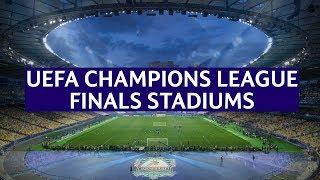 UEFA Champions League Finals Stadiums (1956-2020)