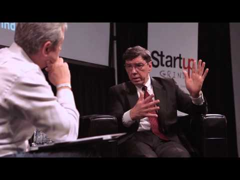 Startup Grind 2013 Clayton Christensen Interview w/ Mark Suster