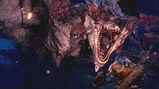 Monster Hunter World: Rathalos Boss Fight #15 (Solo / Long Sword)
