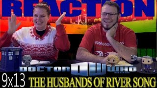 """Doctor Who CHRISTMAS Special 9x13 REACTION """"The Husbands Of River Song"""""""