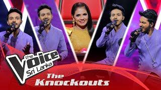 Nadun Dilhara | Mayam Kalawe  The Knockouts | The Voice Sri Lanka