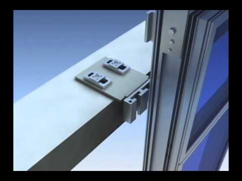 Unitized Curtain Wall Installation Youtube