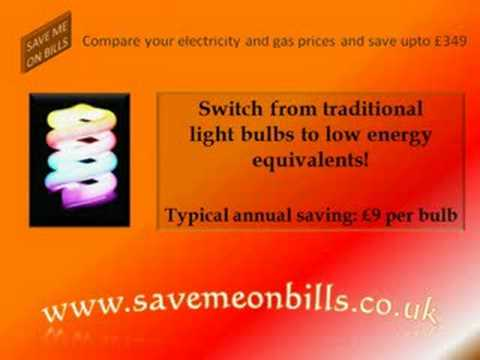 Top ten tips to save money on electricity and gas bills. http://www.savemeonbills.co.uk