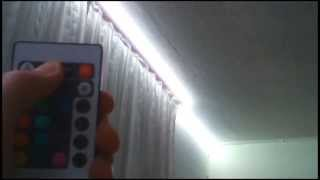 Review 5M 5050 RGB 150 SMD LED Strip Lights with Controller