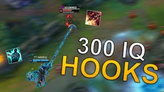 300IQ HOOKS - Reetekop thresh montage #14 - League of legends