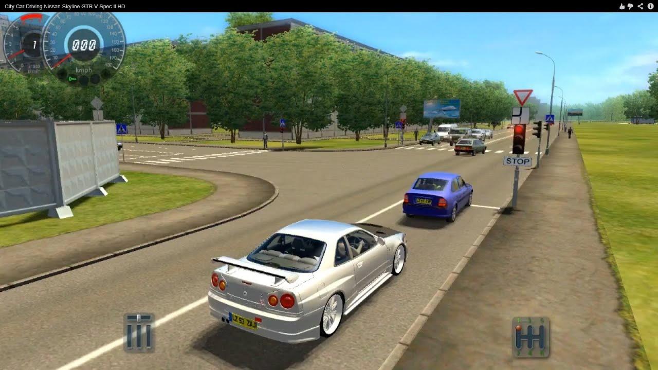 City Car Driving Nissan