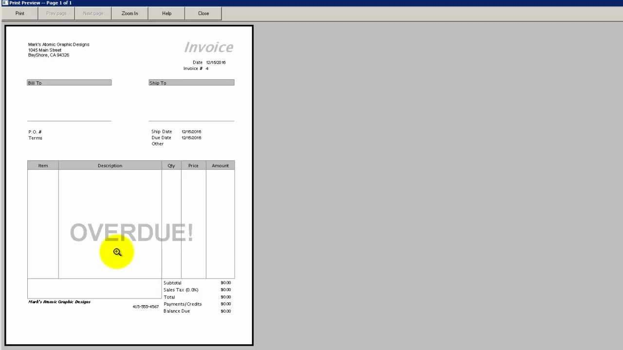 how to put logo on quickbooks invoices