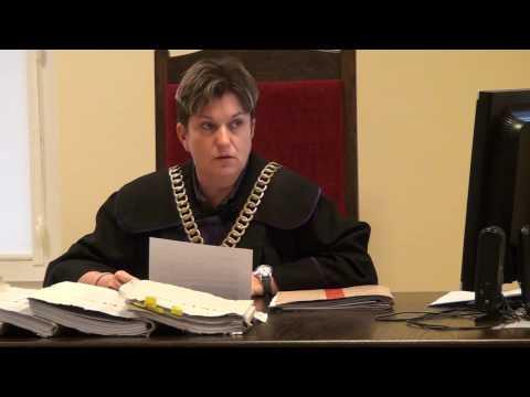 Ogłoszenie Uzasadnienia Wyroku W Sprawie Krystyny Otręby (Sąd Rejonowy W Piasecznie) 21.10.2016r.