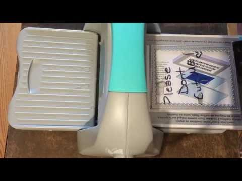 Evolution Advance Review (using Sizzix plates)
