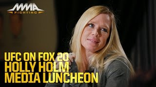 UFC on FOX 20: Holly Holm Media Lunch