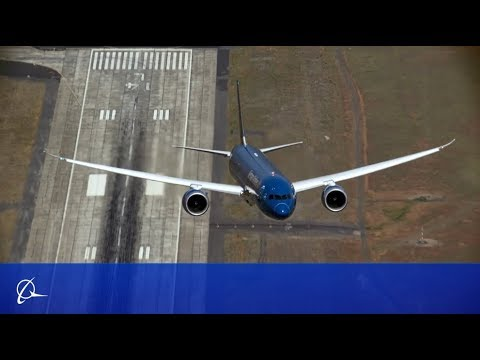 Boeing Prepares the 787-9 Dreamliner for the 2015 Paris Air Show