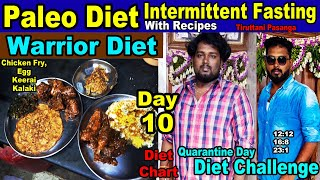 Paleo Diet Intermittent Fasting Day 10 Challenge in Quarantine days (Fast Weight Loss Steps)