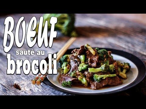 Bœuf Sauté au Brocoli - Le riz Jaune