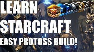 Learn Starcraft - Protoss Beginner Build Order Guide & Gameplan! [2018]