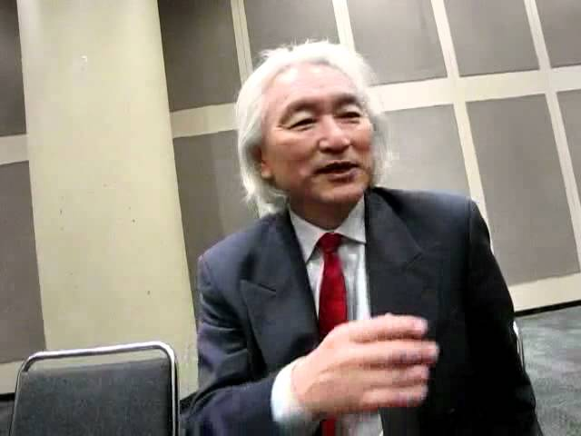 Dr. Michio Kaku at NYC Comicon