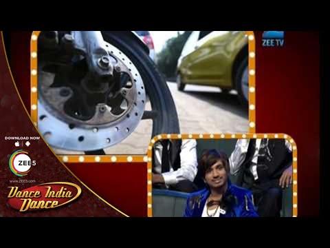 Dance India Dance Season 4  February 09, 2014 - Master Mudassar & Ishita Celerio Promotion