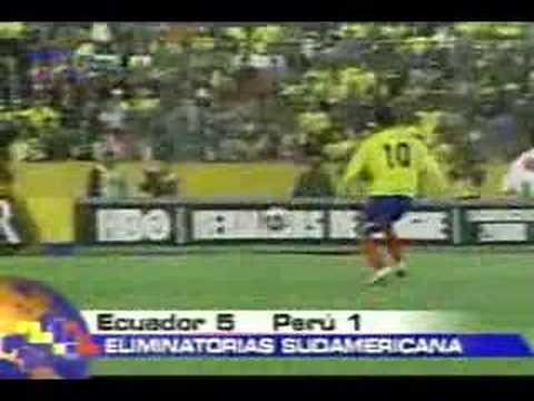 Ecuador goleo a Peru 5 - 1 Resumen de los goles