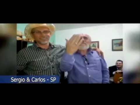 Amigos do Papo: Sergio e Carlos Bregantim -  Estação do Caminho em Sorocaba.