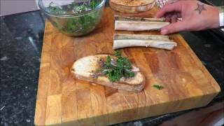 Roasted Beef Marrow Bone On Toast. #SRP