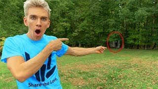 FOUND GAME MASTER LIVING IN OUR BACKYARD!! (exploring abandoned woods)  from Stephen Sharer