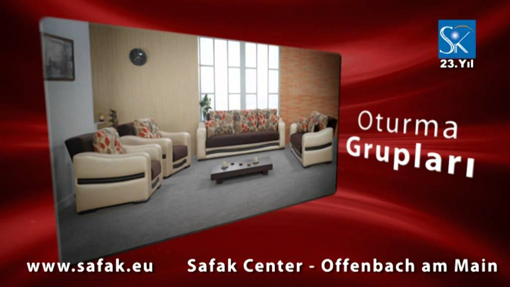 safak center baza ve oturma gruplari youtube. Black Bedroom Furniture Sets. Home Design Ideas