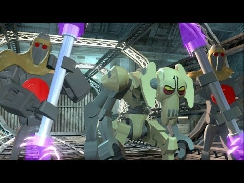 LEGO Star Wars III: The Clone Wars Walkthrough - Part 13 - Grievous Intrigue