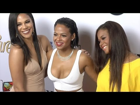 "Christina Milian, Liz Milian, Danielle Milian // LATINA ""Hot List"" 2015 Party Red Carpet thumbnail"