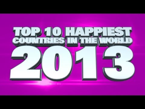 Top 10 Happiest Countries In The World 2013