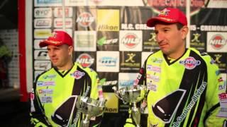 Campionato Italiano Sidecarcross FMI 2015, Cremona: Intervista Pozzi Ceresa