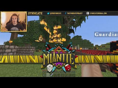 Minecraft: Mianite - Dianite Attacks Sparklez & Jericho! [80]
