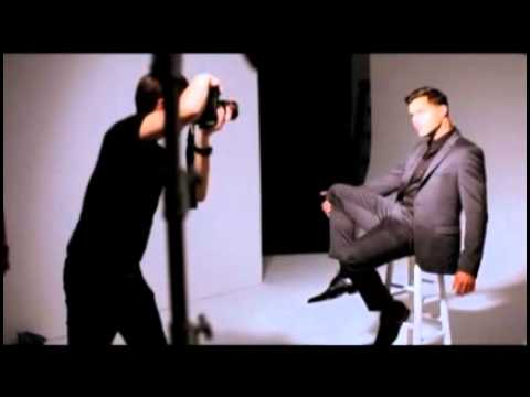 Ricky Martin - BTS Photoshoot para The Advocate