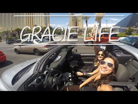 GRACIE LIFE with Kyra Gracie - UFC 187 in Las Vegas, NV