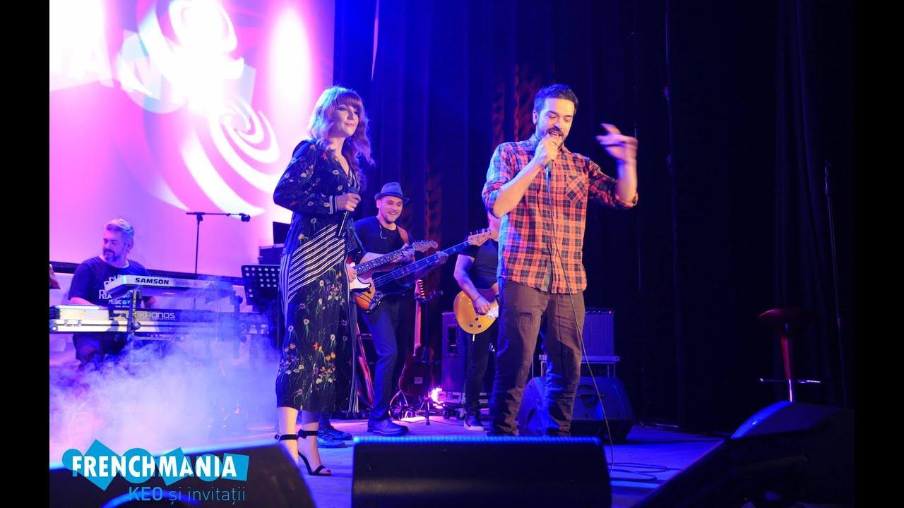 Adrian Despot & Alexandra Ungureanu - Elle m'oubliera (Live @ Frenchmania)