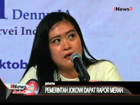 Lingkaran Survei Indonesia Lansir Setahun Jokowi-JK Dapat Rapor Merah - iNews Malam 29/10