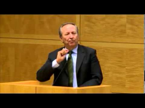 Larry Summers at IMF Economic Forum, Nov. 8