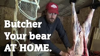 Butcher your bear at home