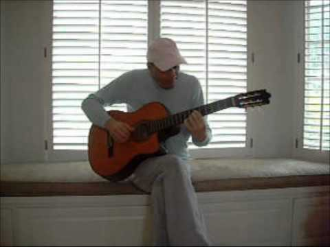 Cliff plays a soleares jazz piece in a Charlie Byrd vein