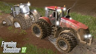 FENDT VS JOHN DEERE VS CASE VS VALTRA | Farming Simulator 17 | Baldeykino - Episódio 31