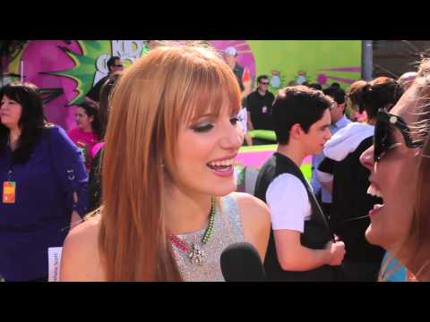 Bella Thorne Interview - 2013 Kids' Choice Awards