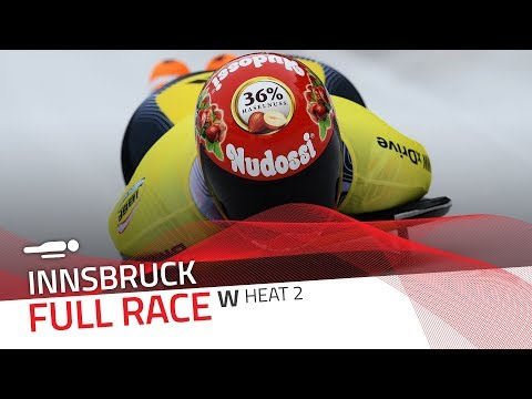Innsbruck | BMW IBSF World Cup 2017/2018 - Women's Skeleton Heat 2 | IBSF Official