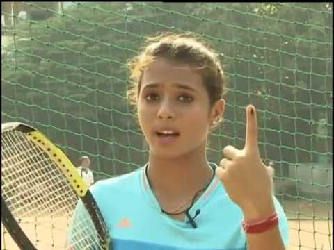Tennis player Ankita Raina is proud to be a Voter (Gujarat)
