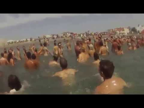 Naked Beach World Record video