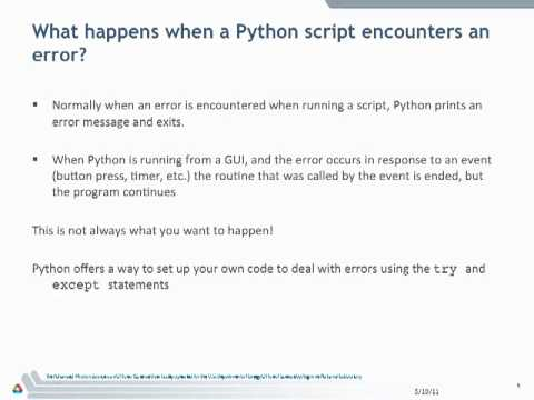 Learning Python - Advanced part 2